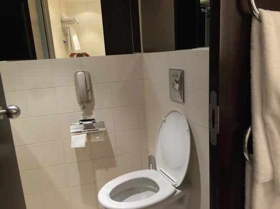 toilet picture of radisson blu hotel berlin berlin tripadvisor. Black Bedroom Furniture Sets. Home Design Ideas