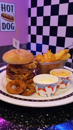 Le memphis burger photo de memphis coffee thionville for Appart hotel thionville