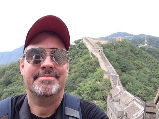 Great Wall at Mutianyu: can not be a better selfie - can-not-be-a-better-selfie