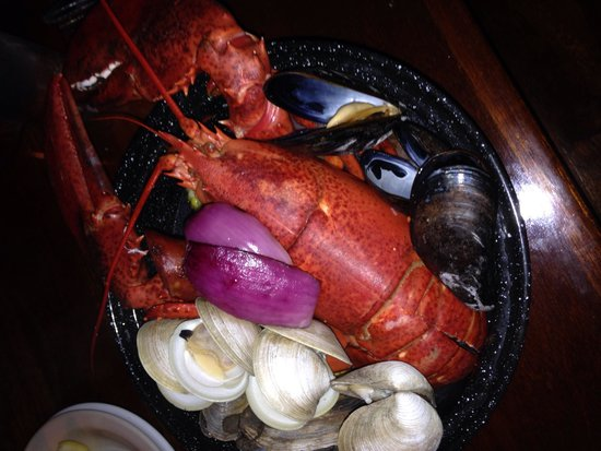 Lobster rolls with textbook fries - Picture of Nantucket Lobster Trap, Nantucket - TripAdvisor
