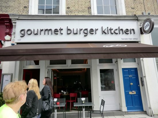 GBK Salad Picture of Gourmet Burger Kitchen London