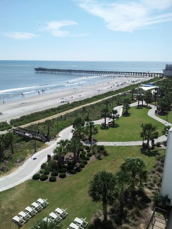view of boardwalk from balcony picture of holiday sands. Black Bedroom Furniture Sets. Home Design Ideas