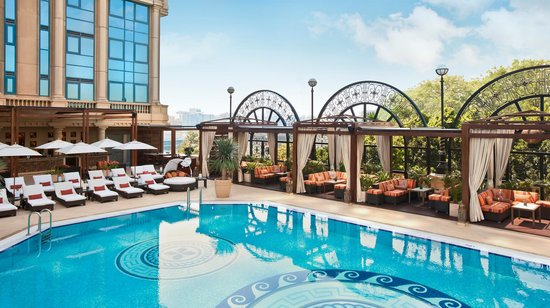 Four Seasons Hotel Cairo at the First Residence: Day Pool Shot