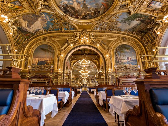 Le Train Bleu Paris Bercy Nation Restaurant Avis