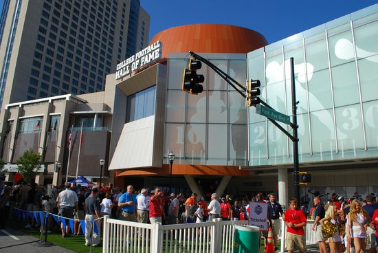 Foyer Museum Hours : College football hall of fame atlanta ga hours