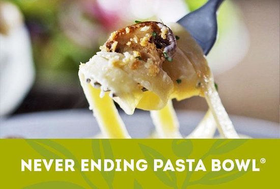 Our Never Ending Pasta Bowl Is Back Come In Today Picture Of Olive Garden Woodbridge
