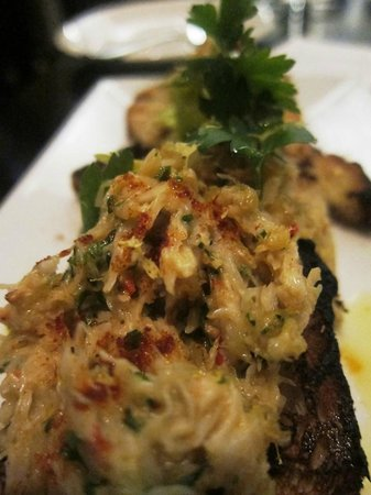 Deviled Crab Toast smoked paprika, celery - Picture of Row 34, Boston ...