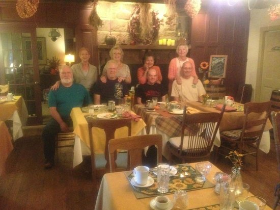Inne at Watson's Choice: A very delicious breakfast greeted us each morning!