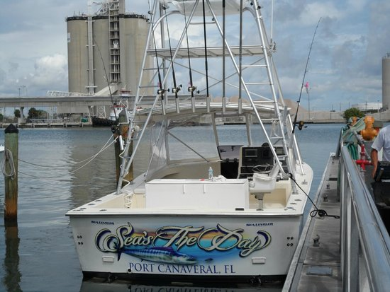 Seas the day great boat picture of sea leveler sport for Cape canaveral fishing charters