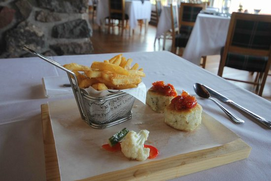Pictou Lodge Beachfront Resort: Lunch
