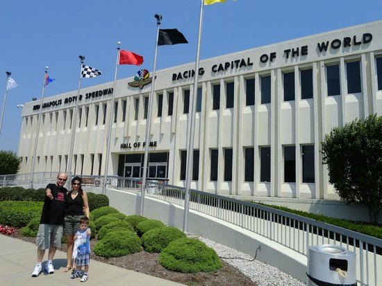 Pista Picture Of Indianapolis Motor Speedway And Hall Of