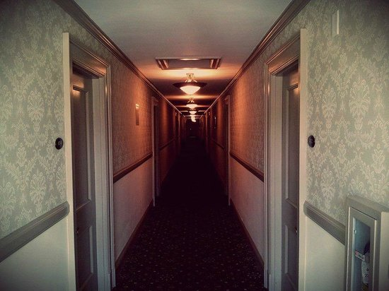 We Were Lucky Enough To Get Room 217 The Most Famous Haunted In Hotel First Night Had Quite A Bit Of Ghostly Experiences