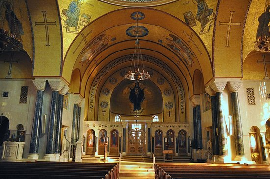 Inside - Picture of Saint Sophia Cathedral, Washington DC ...
