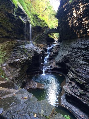 Watkins Glen Villager Motel: Walking distance to the beautiful state park
