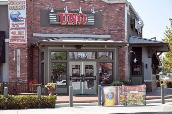 "Photo of Uno Pizzeria & Grill - Modesto, CA, United States. Photo of Uno Pizzeria & Grill - Modesto, CA, United States. More than Deep Dish. Explore Our New Menu. View Now ""We got an individual Numero Uno pizza and a Cheddar Bacon Burger and they were as good as expected."" in 8 reviews/5()."