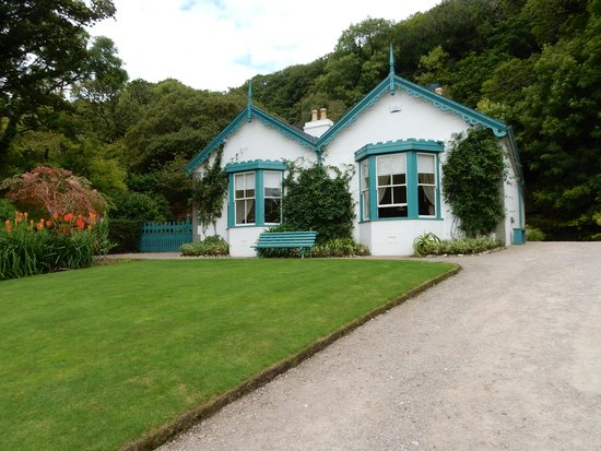 Walled Victorian Garden Picture Of Kylemore Abbey