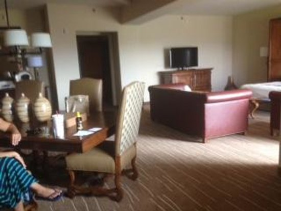 Living Room Tucson : Our beautiful room- living room area with murphy bed ...