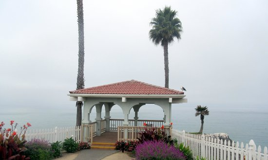 Ocean view gazebo nice views bw plus shore cliff lodge for Best western pismo