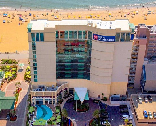 Cityside Aerial View Picture Of Hilton Garden Inn Virginia Beach Oceanfront Virginia Beach