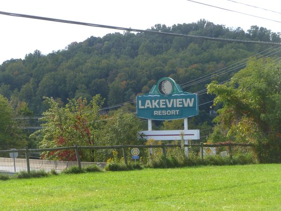 Lakeview Golf Resort and Spa: Main Resort Sign