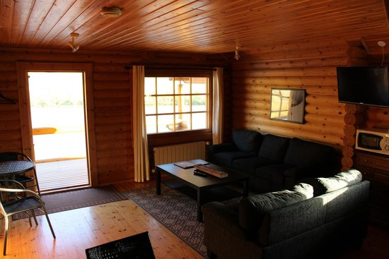 Spacious Living Room Picture Of Brimnes Hotel Cabins