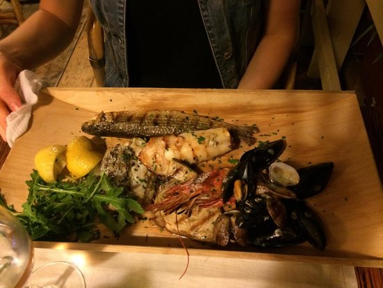 Perfect food and service only fresh fish and seafood 5 for Soul fish cafe menu