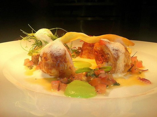 Ballotine of monkfish picture of clancy 39 s bar for Bar food youghal