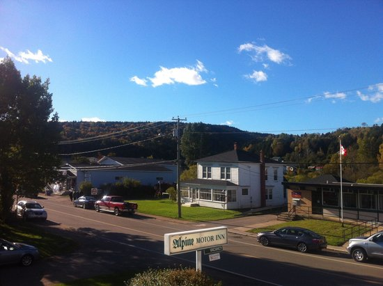 View From Our Room Picture Of Alpine Motor Inn Alma