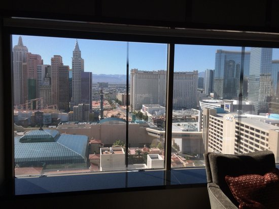 View From Our King Premier View Room Picture Of Mgm
