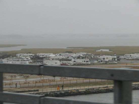 View Of Campsites From Indian River Inlet Bridge Picture