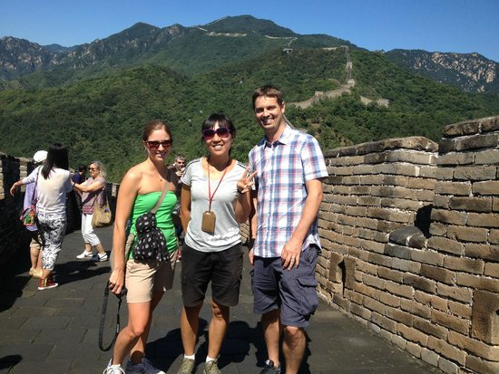 We Are On The Wall  Picture Of Beijing Private Oneday Tour Guide Susan Liu
