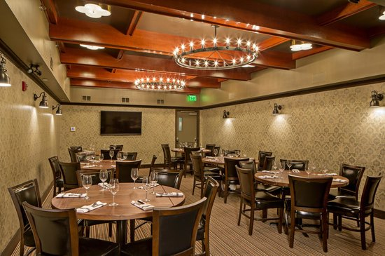 Dining room picture of the merchant boston tripadvisor - Private dining room boston ...