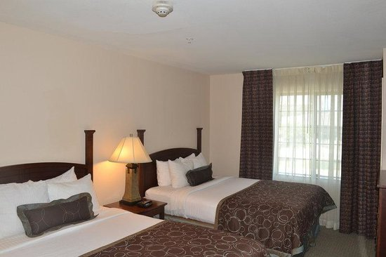 2 Bedroom Suite 1 King Bed And 2 Doubles Bedroom Picture Of Staybridge Suites San Antonio Nw