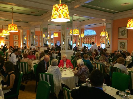 Main Dining Room Of The Grand Hotel On Mackinac Island