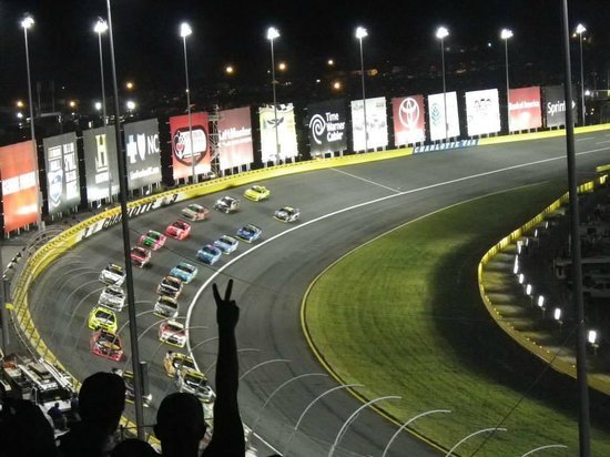 Bank of america 500 picture of charlotte motor speedway for Charlotte motor speedway concord parkway south concord nc