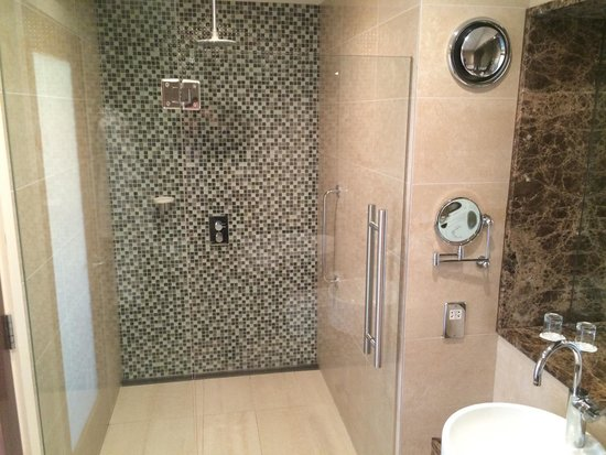 Large Walk In Shower Executive Room Picture Of Clayton Hotel Galway Galw