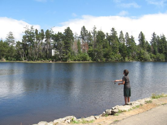 Fishing at empire lakes picture of coos bay oregon for Coos bay fishing