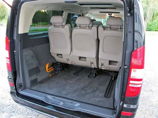 mercedes viano luggage space picture of continental. Black Bedroom Furniture Sets. Home Design Ideas