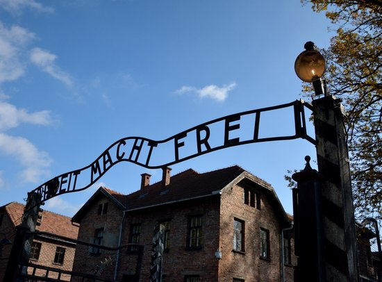 Auschwitz Camp 1  Main Gate With Sign  Picture Of Auschwitz Krakow  Privat