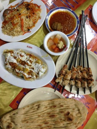 Afghani tikka picture of kabul restaurant islamabad for Afghan cuisine restaurant