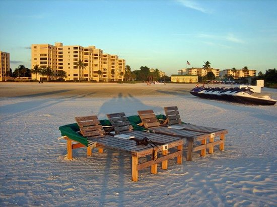 View From Beach Picture Of Wyndham Garden Fort Myers Beach Fort Myers Beach Tripadvisor
