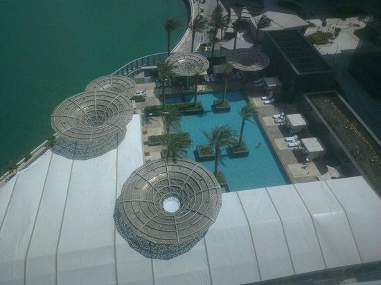 Rosewood Abu Dhabi: The view from my room 1313
