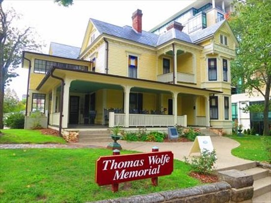 the thomas wolfe house is just across the street. Black Bedroom Furniture Sets. Home Design Ideas