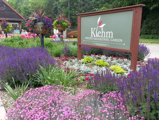 Entrance To Klehm In June