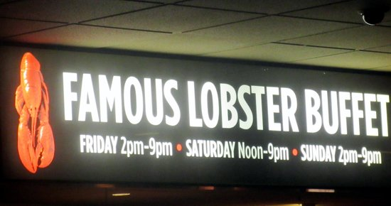 Boomtown casino new orleans lobster buffet