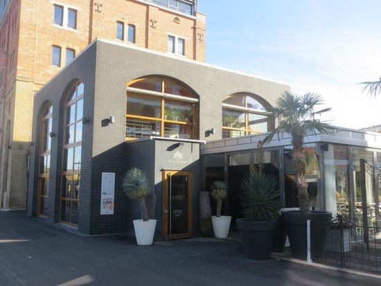 die blaue algarve aussenansicht picture of die blaue agave ludwigsburg tripadvisor. Black Bedroom Furniture Sets. Home Design Ideas