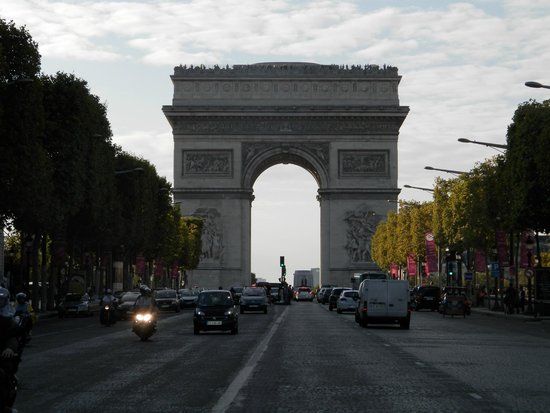 Avenida Champs Elysees Paris Champs-elysees Avenida Champs