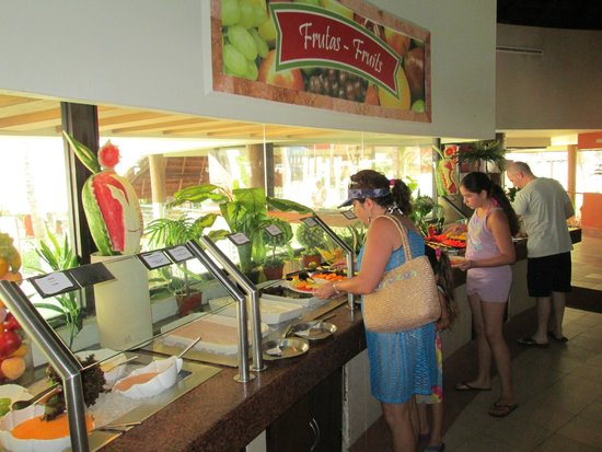 Buffet Picture Of Crown Paradise Club Cancun Cancun