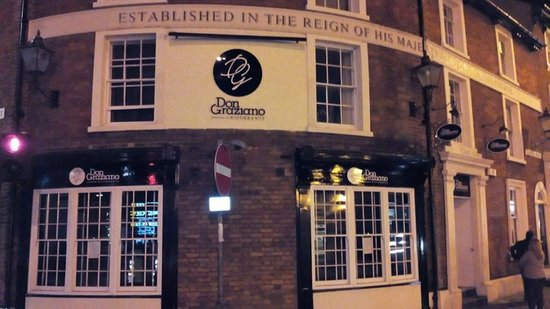 Unfortunately Its Closed Now Review Of Ristorante Don Graziano Bedford England Tripadvisor