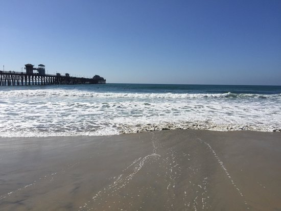 Near the end of the pier at oceanside ca picture of for Oceanside fish report